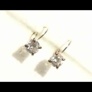Jewelry - ❗️SALE❗️CZ Drop Stud Earrings